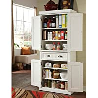 Nantucket White Distressed Finish Pantry