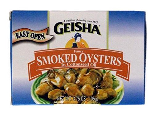 Geisha Fancy Smoked Oysters Cottonseed product image