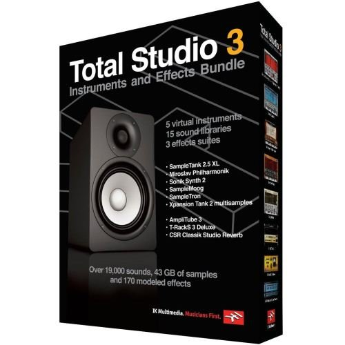 IK Multimedia Total Studio 3 Bundle - Vst Plug In Shopping Results