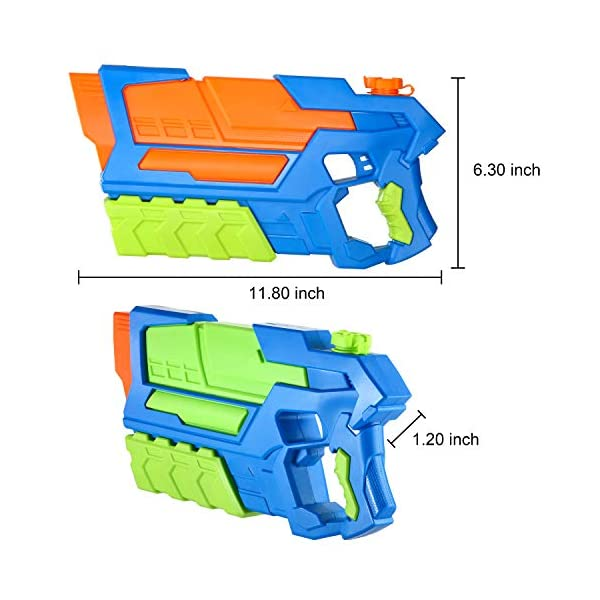 JOYIN 3 in 1 Pistole ad Acqua Potenti Bambini Adulti Super Soaker Superliquidator Fucile ad Acqua Giardino Giocattolo di… 2 spesavip