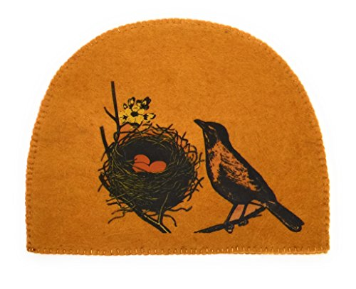 Fibres of Life Hand-Crafted Tea Cozy (Tumeric Bird Nest)