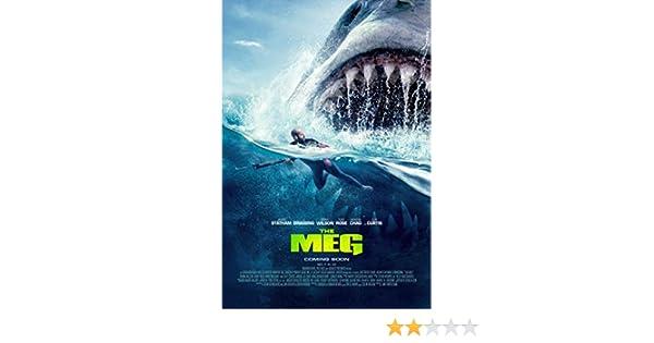 Amazon com: bribase shop The Meg 2018 Movie poster 47 inch x