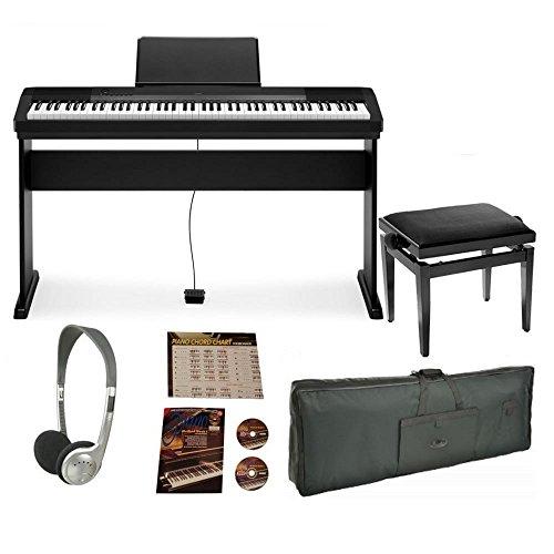 Casio Cdp130 Digital Piano Pro Bundle Keyboards Zone