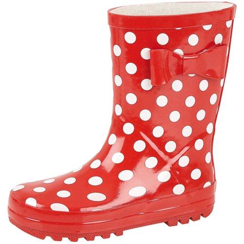 Lora Dora , Jungen Stiefel Red Polka Dot