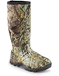 Guide Gear Mens Wood Creek Insulated Rubber Hunting Boots, 1,000 Grams