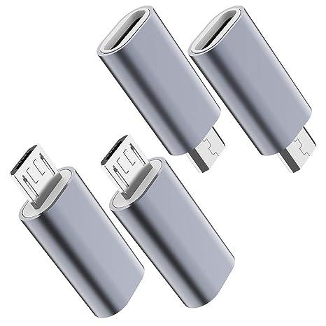 Amazon.com: Adaptador USB C a USB, JXMOX USB tipo C hembra a ...
