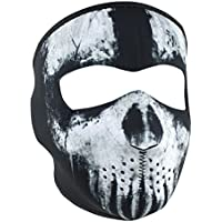 Zanheadgear WNFM409 Adult/Unisex Neoprene Skull Ghost...