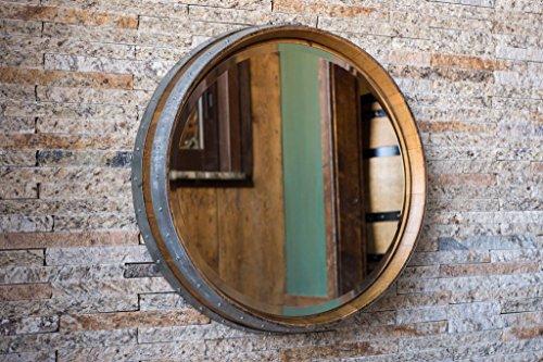 wine barrel mirror - 5