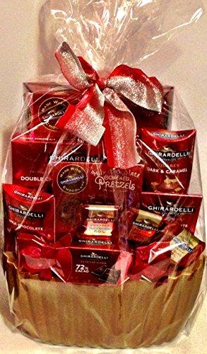 Houdini Ghirardelli Gift Basket Red