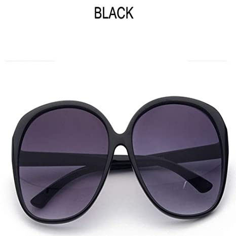 Yangjing-hl Gafas de Sol ovales de Moda para Mujer Diseño de ...