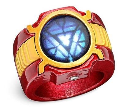 Buy Generic Avengers Marvel Iron Man 3 Led Arc Reactor Ring Size 12