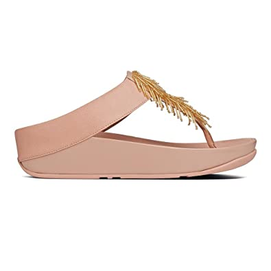 ea930f9a0d8 Fitflop Womens Cha Cha Nude Sandal - 7  Amazon.co.uk  Shoes   Bags