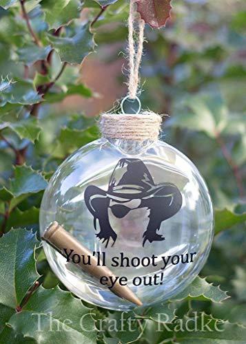 (Carl Grimes Christmas Story Ornament)
