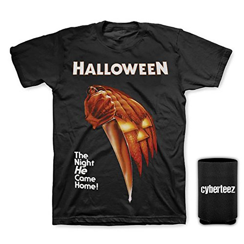 Halloween Michael Myers Movie Poster Men's T-Shirt + Coolie (New Halloween Michael Myers Movie)