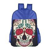 Sugar Skull Children School Backpack Carry Bag For Teens Boy Girl