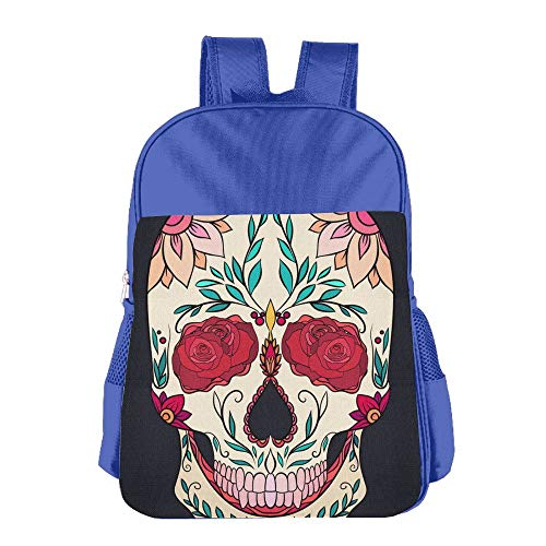 Sugar Skull Children School Backpack Carry Bag For Teens Boy Girl by TPXYJOF