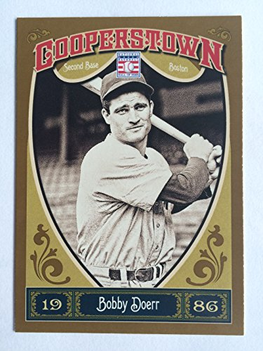 2013 Panini Cooperstown #43 Bobby Doerr NM/M (Near Mint/Mint)