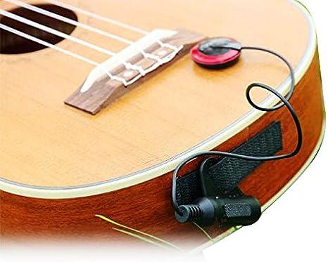 EAPEY Micro Sensor de amplificación electrónico para guitarra ...