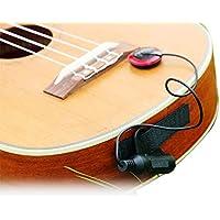 EAPEY Micro Sensor de amplificación electrónico para guitarra acústica/ukelele/Violín/mandolina