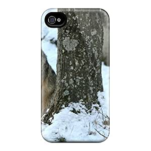 Premium Coyote Back Covers Snap On Cases For Iphone 6