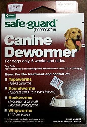 Dewormer Dog Safeguard 4g/40lb