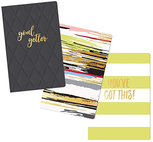 "- Fitlosophy Motivational Quote Pocket Notebooks, 3 ½"" x 5 ½"