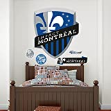 MLS Impact Montreal Logo Crest Wall Decal