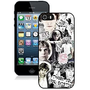 DIY iPhone 5s Case Design with Evan Peters 4 Cell Phone Case for Iphone 5 5s Generation in Black