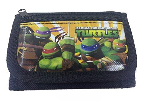 [Ninja Turtles Black Trifold Wallet] (Ninja Turtle Kids)