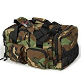 "King Kong Junior Kong Original Nylon Gym Bag - Heavy Duty and Water-Resistant Duffle Bag - Military Spec Nylon- Heavy Duty Steel Buckles - 18"" x 10"" x 3.5"""