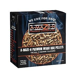 A-MAZE-N Wood BBQ Pellets from fabulous A-MAZE-N