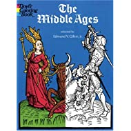 The Middle Ages (Colouring Books)