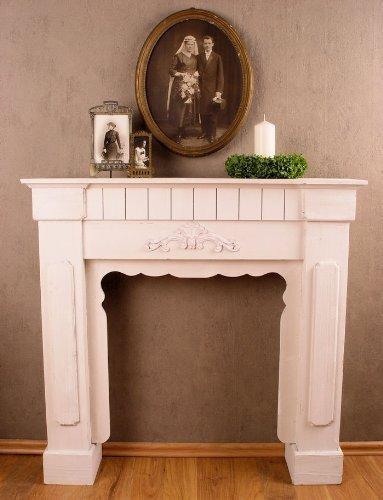 Romántico Manto de chimenea, wandverzierung, kaminrand, Estufa, kamindekoration para Hermoso ambiente,