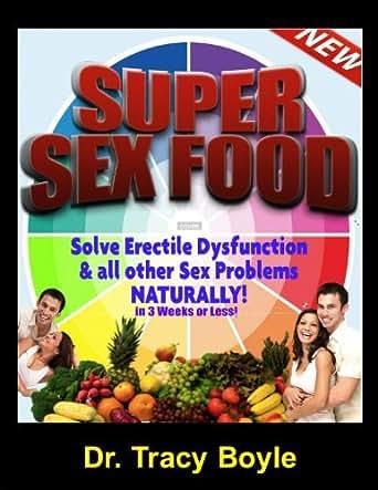 Erectile dysfunction food