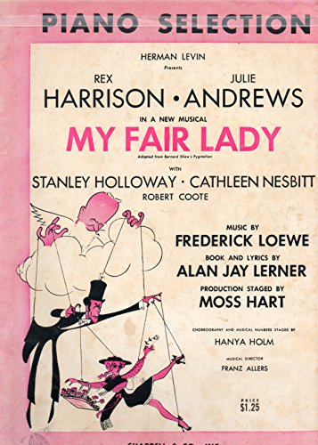 Fair Lady Sheet Music - My Fair Lady - Piano Selection
