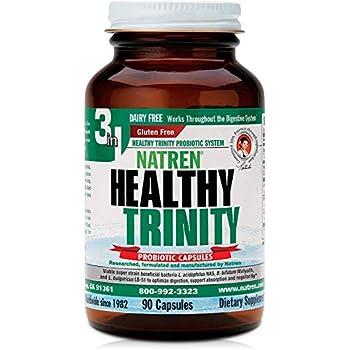 Amazon.com: Natren Healthy Trinity Probiotics Supplement ...