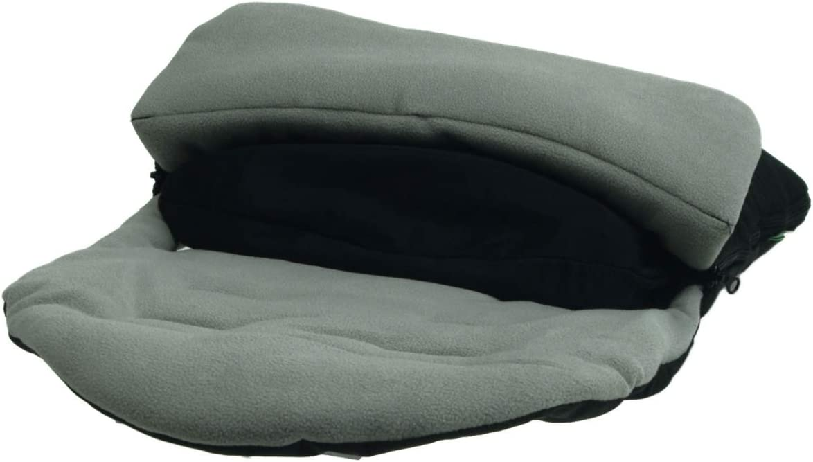 Dolphin Grey Premium Footmuff//Cosy Toes Compatible with Silver Cross Surf