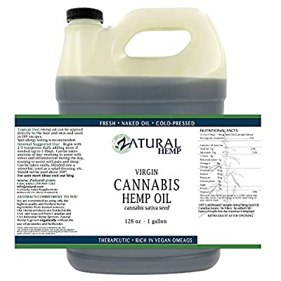 Hemp Oil-Cannabis Sativa Oil, (NEW LOOK-SAME AMAZING PRODUCT) 100% Pure_No Fillers or Additives, Therapeutic Grade