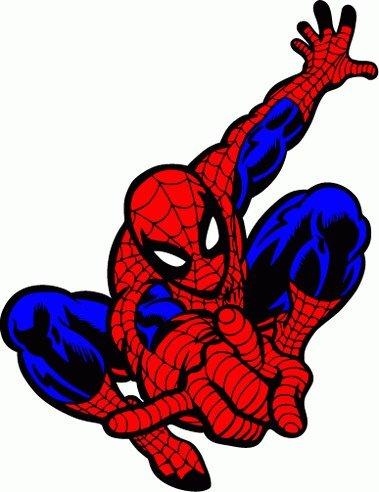 Spider Man Cartoon Car Bumper Sticker Decal 4