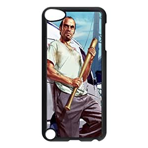 Protection Cover Xsxnz Ipod Touch 5 Cell Phone Case Black trevor grand theft auto v game Protection Cover