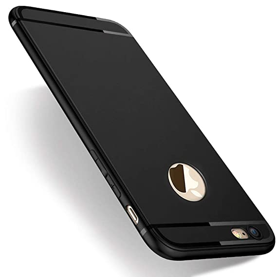 newest 41869 e68a8 iPhone 7 Case, Slim Non-Slip TPU Full Protection Flexible Soft Case  Shockproof Silicon Gel Case for iPhone 7, Easy to Clean (0.45mm)
