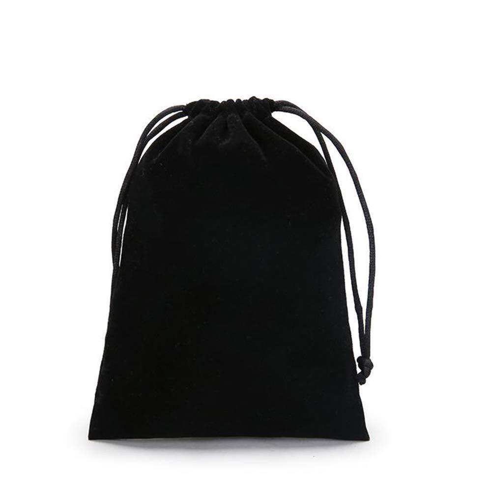 Squisito Leggero leggero durevole 25pcs sacchetti di velluto nero con coulisse borse gioielli borse sacchetti di velluto con coulisse borse di Negozio bomboniere sacchetti regalo for gioielli regalo f