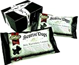 Gimbal's All Natural Black Licorice Scottie Dogs, 11.5 oz Bags in a BlackTie Box (Pack of 2)