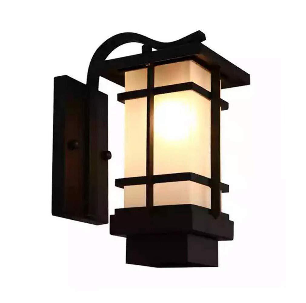 prezzi equi XCBD Outdoor wall lamp outdoor waterproof waterproof waterproof garden light modern minimalist corridor balcony villa wall lamp  lo stile classico