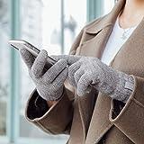 Moshi Digits Winter Gloves Touchscreen, Slip-Free