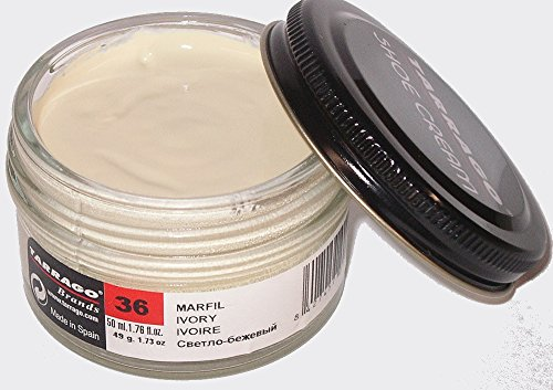 Tarrago Shoe Cream Jar 50Ml. Ivory #36