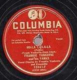Frankie Yankovic - You Are My One True Love/Hu-La La-La-La