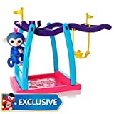 WOW WEE FINGERLINGS GLITTER MONKEY BAR PLAYSET WITH NAIMA