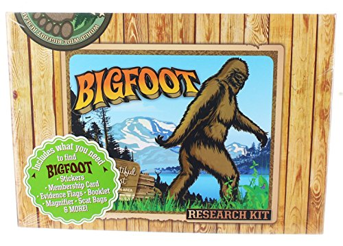 Accoutrements 12519 Bigfoot Research Kit