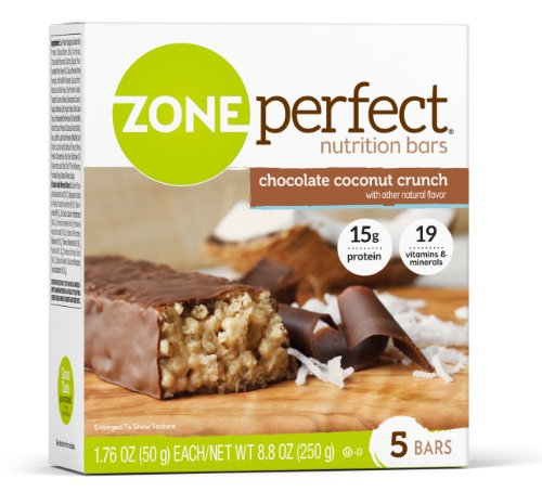 UPC 638102633019, ZonePerfect Nutrition Bars, Chocolate Coconut Crunch, 1.76 oz, 30 Count